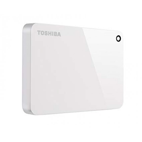 Disco Duro Ext Toshiba Canvio Advance V9 2TB USB 3.0 White