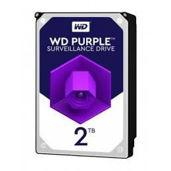 Disco Duro Int W. Digital  Purple  2TB Surveillance 64mb IntelliPower