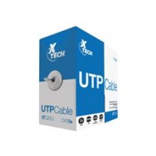 CABLE UTP CATEGORiA 5E GRiS DE 305 MTS