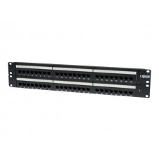 Patch Panel 48Port Cat5/cat6 110 2U 568B Ethernet RJ45