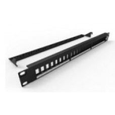 Patch Panel 24 puertos Vacio NEGRO