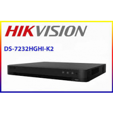 DVR Hikvision Lite 32 Canales + 2ip 2HHD H265+ 1mp/2mp