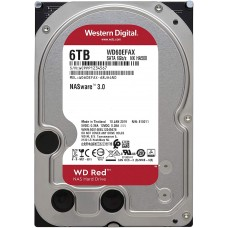 Disco Duro W. Digital Red WD60EFAX 6tb 5400rpm 256mb SATA3