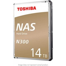 Disco Duro Int Toshiba NAS HDD 3,5 14TB N300 7200RPM 256MB Sata 3 BOX