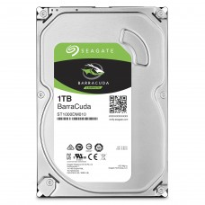 "Disco Duro Int Seagate 1TB 3.5"" 7200RPM Sata3 64mb Barracuda USO PC"