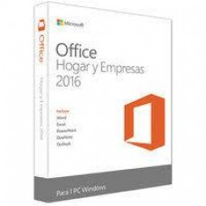 Microsoft Caja Office Home And Business 2016 32/64 Espa?ol
